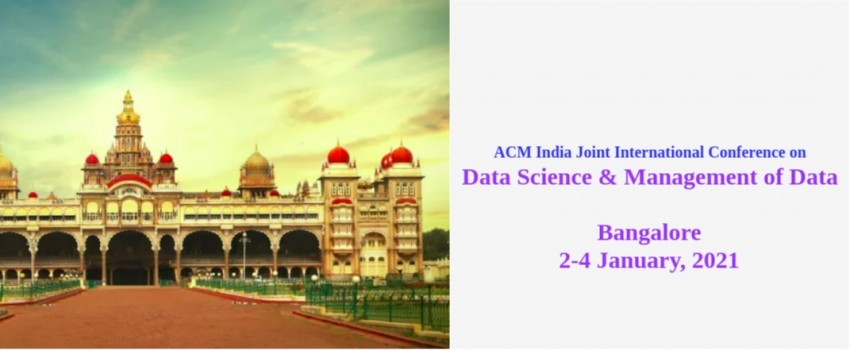 International Conference on Data Science & Management of Data