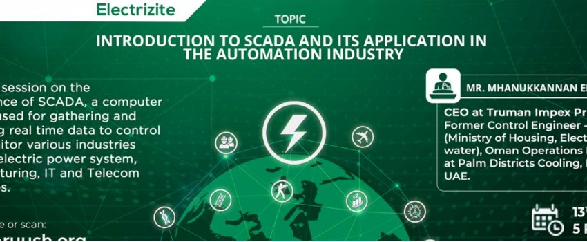 Introduction to SCADA and its application in the Automation Indust