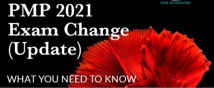 PMP 2021 EXAM CHANGE UPDATE (FREE WEBINAR)