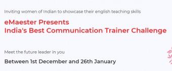 India's Best Communication Trainer Challenge