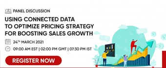 Using Connected Data to optimize Pricing Strategy for boosting sales growth