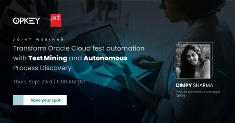 OpKey Webinar, Transform Test Automation for Your Oracle Applications (EBS & Cloud)