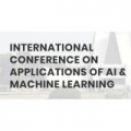International Conference on Applications of AI & Machine Learning