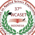37th World Conference on Applied Science Engineering & Technology