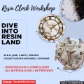 Resin Clock Workshop