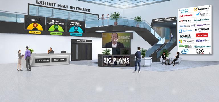 Custom Exhibition Lobby